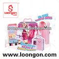 silicone réglé de poupée d'amour de vinyle de loongon de poupées de poupée réaliste de mode