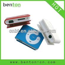 2012 new fashion mp3 player mini clip of cheapest price