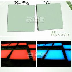 ip65 led light glass bricks 12/24v