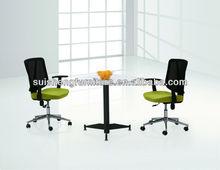 2012 Hot-sale Modern melamine round conference table negotiation table talking desk furnitureTA029