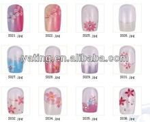 nail art / nail tip / 3D Nail artificial nail tips / top quality professional 3D artificial nail tips