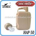 Mini body porté personal sound amplificateur aides auditives poche( hap- 50)