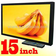 15.6 Inch Wall-mounted LCD Multimedia Indoor Wall Digital Ad Screen(VP156A)