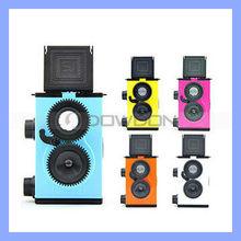 Factory Wholesale DIY Mini Plastic 35MM Film with 2lens Film Cameras