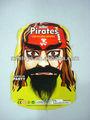 divertido piratas desempeñado el bigote de broma juguete del partido
