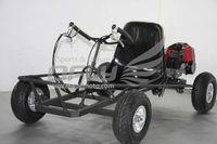 Low price 43cc single seats go kart
