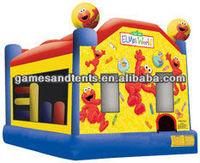 2012 big fun Sesame Street bouncy castle inflatables A2026