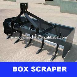 3 point hitch box scraper, tractor rear mount box blade