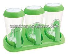 plastic seasonning container,spice box,condiment box