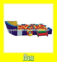 China Produced soft play ball pit with WARRANTY for Kids