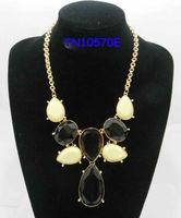 Rose flower pendant fashion chain women necklace
