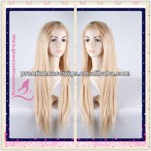 chinese virgin platinum blonde hair wig