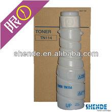 European market use the TN114 konica minolta bizhub cartridge