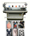 Three-system computerized knitting machine for sweater