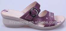 women fashion new style purple wedges sandal shoes 2012 low price wholesale