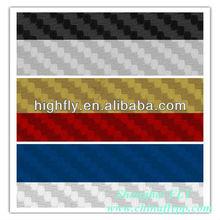 3D colored Carbon Fiber Vinyl sticker,carbon fiber vinyl product,vinyl film for car body