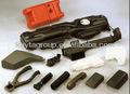 A medida de alta calidad del coche de plástico y piezas de goma pi-087