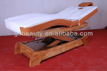 Bed-05B Electric Solid Wood SPA electric massage bed