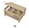 de queso de madera caja de almacenamiento