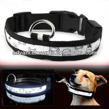 Illuminated LED Flashing Light Dog Pet Safety Collar
