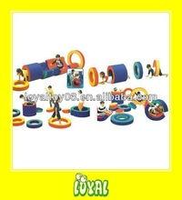 China Produced soft play rolling circle with WARRANTY for Kids