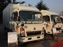 HOWO Mini Ice Cream Van For Sale