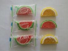 watermelon slice soft jelly pops candy