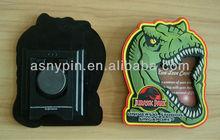 Dinosaur shaped Soft pvc photo frame,science fiction frame