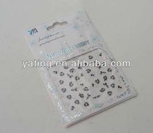 nail art flower sticker / design sticker nail art / design nail tattoo sticker