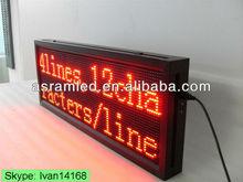 hot new products alibaba express led programming sign display, led display programable
