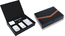 Leather business gift set for promotion to VIP CLIENT