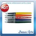 Firme de silicona gris punta de aceite de silicona pincel de color shaper con corto, de color mango de madera