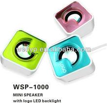 2012 Hight quality sharp design USB Mini speaker