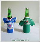 2013 hot-selling fashion cloth pattern neoprene beer cover bottle holder