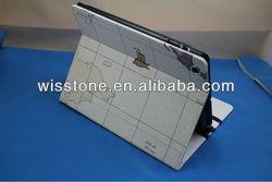 2012 leather case for ipad mini