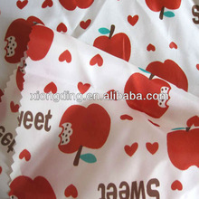 popular polyester 2012,printed poly taffeta for children clothing