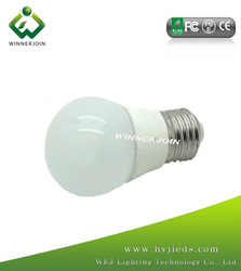 2012 Hot Sale LED Bulb Parts 5.5W 400-450LM E27B22 with CE RoHS approved