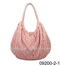 2013 latest design crochet hand bags for women