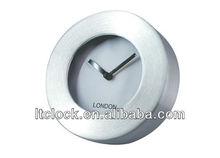 6 inch Metal Wall Clock
