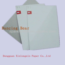 White Mix Pulp Uncoated Duplex Grey Board