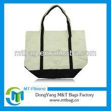 fashion cross body handle custom printed canvas tote bag