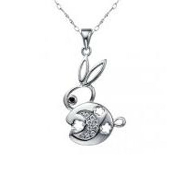 Exquisite heart shape necklace, fashion design 925 sterling silver necklace, beauty accessory
