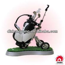 Desktop Gift-Golf Caddy Cart Pens Holder