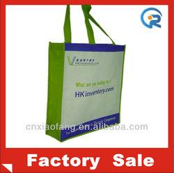 Eco raw material non woven silk screen bag