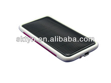 Hot sale! cheapest external solar power cellphone charger with indicator CH03