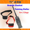 Remote control dog collar TZ-PET317D Dog training collar Can control two dogs