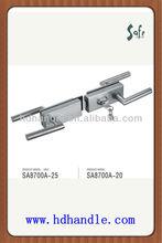 stainless steel sliding glass door lock set handle SA8700A-20 & SA8700A-25