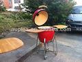 auplex 21 polegadas vermelho cerâmica europeia fogões