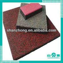 outdoor rubber floor tiles in 2012