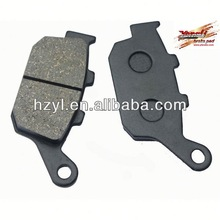 motorcycle rear sets/brake pad